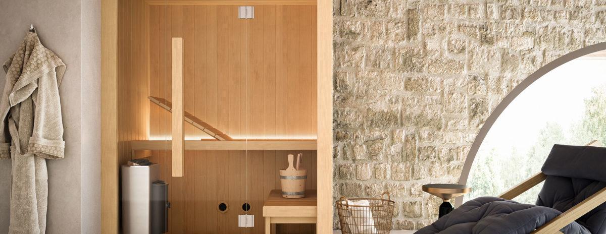 Arredobagno-sauna